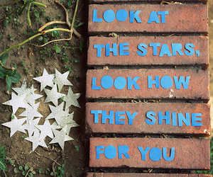 stars, coldplay, and yellow image