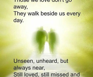 away, loved, and quotes image