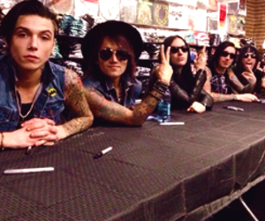 icons, bvb, and black veil brides image