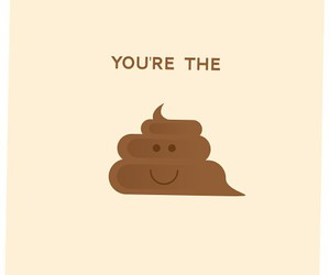 shit, funny, and poop image
