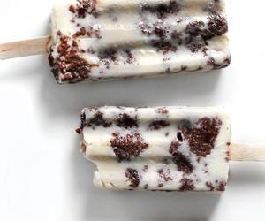 food, ice cream, and chocolate image