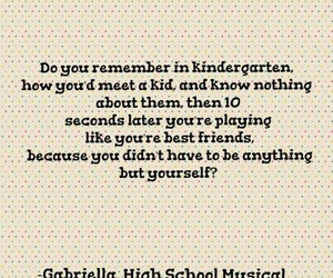 child, high school musical, and quotes image