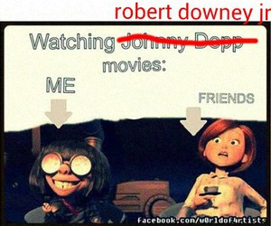 funny, movies, and robert downey jr image