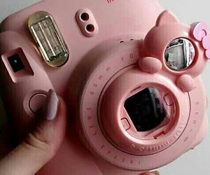 instax, mini, and pink image