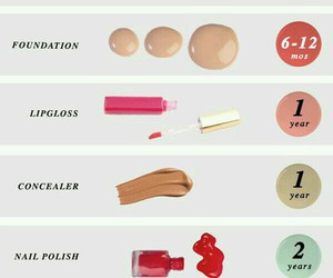 make up, makeup, and mascara image