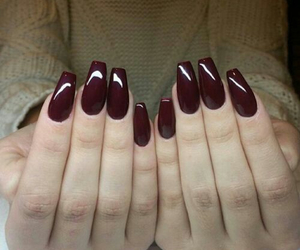 brown, nails, and nice image