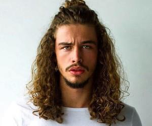 boy, hair, and Hot image