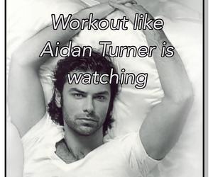 workout and aidan turner image