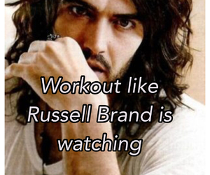 russell brand and workout image