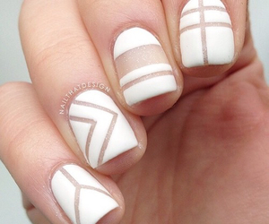 cool, nails, and white image