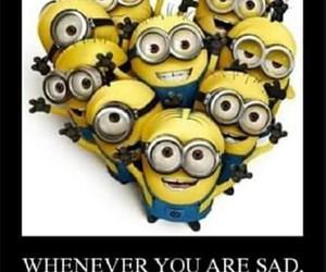 minions, sad, and despicable me image