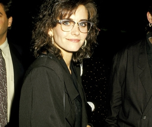 80s, black, and Courteney Cox image