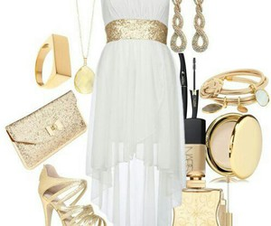 dress, robe, and shoes image