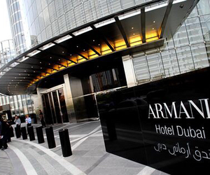 Dubai, Armani, and hotel image
