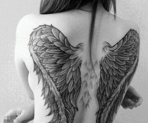 angel, back, and dos image