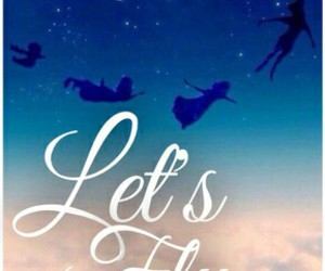peter pan and let's fly image