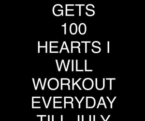 workout, fitness, and heart image