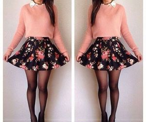 beautiful, skirt, and women image
