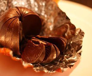 chocolate, orange, and food image