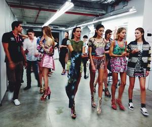model, fashion, and backstage image