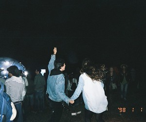 grunge, party, and night image