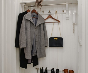 hall, hangers, and shoes image