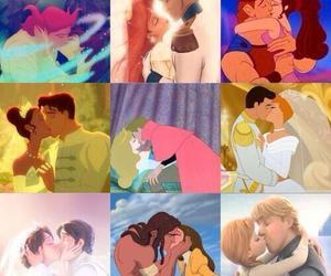 disney, love, and kiss image