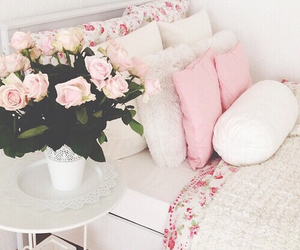 barbie, dreamhouse, and flowers image
