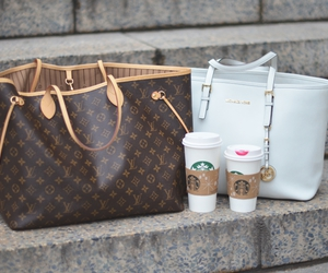 starbucks, bag, and fashion image