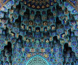 architecture, islamic, and muqarnas image