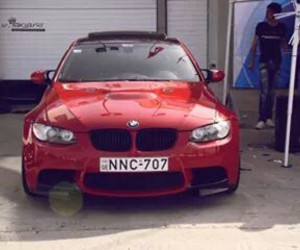 bmw, cool, and red image