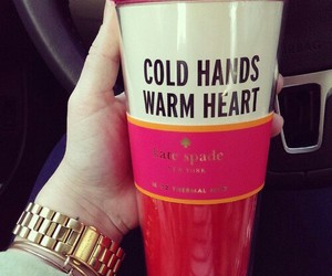 heart, cold, and kate spade image