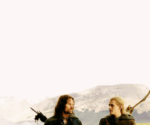 Legolas, aragorn, and LOTR image