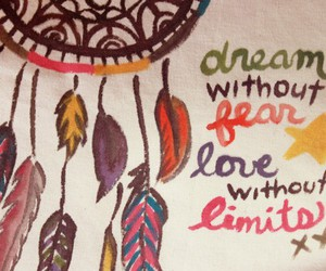 Dream, love, and fear image