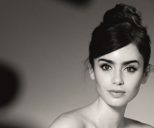 beautiful, pretty, and lily collins image