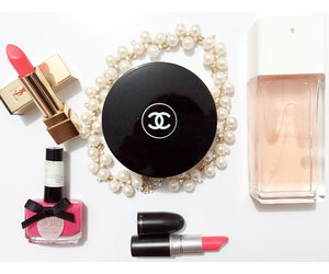 beauty, chanel, and coral image