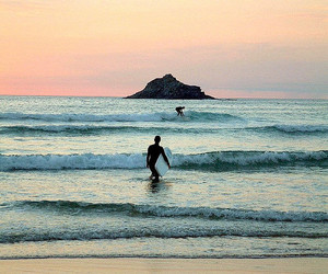 sea, summer, and surf image