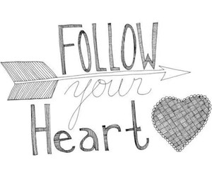 heart, love, and follow image