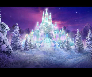 ice, icecastle, and snow image