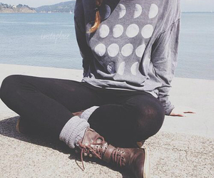 boots, leggings, and braid image