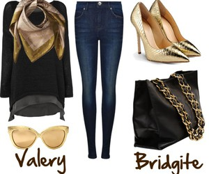 bag, beautiful, and clothes image
