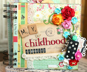 book, childhood, and memories image