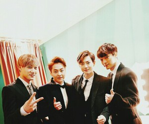 Chen, suho, and xiumin image