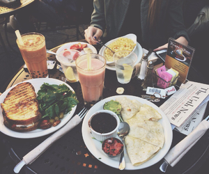 food, breakfast, and lunch image