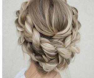 blonde, model, and hair tutorial image