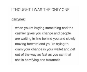 cashier, funny, and life image