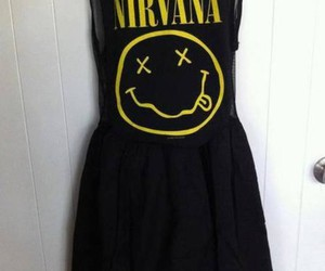 nirvana, dress, and black image