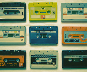 vintage, music, and tape image