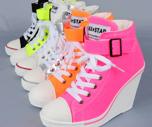 neon, cute, and shoes image
