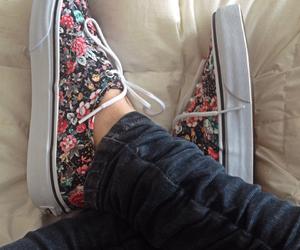 vans love shoes blumen
